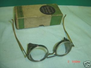 "$39.00 ""Steampunk"" Safety Glasses"