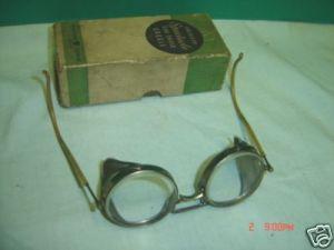 "$39.00 ""Steampunk"" Safety Glasses"