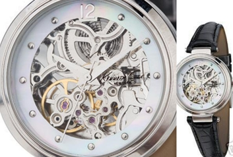 Kenneth Cole makes this Steampunk Watch